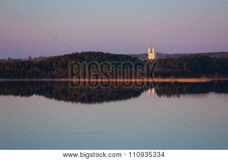 Evening at Braslau Lakes National Park, Belarus
