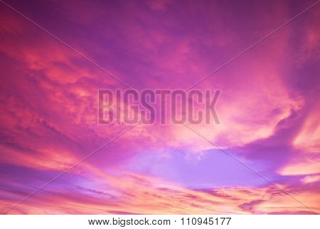 Blurred, Sky And Colors
