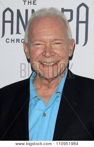 LOS ANGELES - DEC 4:  Terry Brooks at the he Shannara Chronicles at the iPic Theaters on December 4, 2015 in Los Angeles, CA