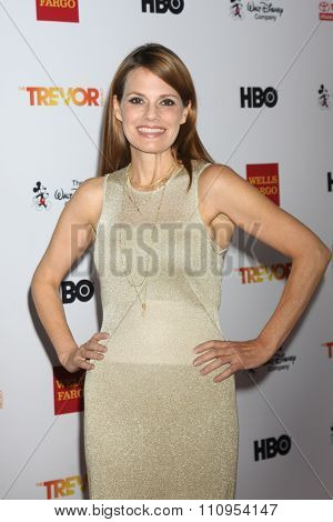 LOS ANGELES - DEC 6:  Suzanne Cryer at the TrevorLIVE Gala at the Hollywood Palladium on December 6, 2015 in Los Angeles, CA