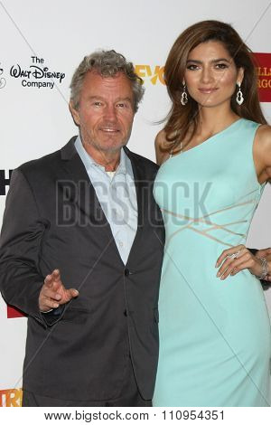 LOS ANGELES - DEC 6:  John Savage, Blanca Blanco at the TrevorLIVE Gala at the Hollywood Palladium on December 6, 2015 in Los Angeles, CA