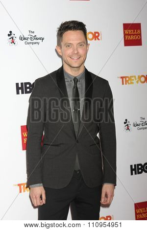 LOS ANGELES - DEC 6:  Eli Lieb at the TrevorLIVE Gala at the Hollywood Palladium on December 6, 2015 in Los Angeles, CA