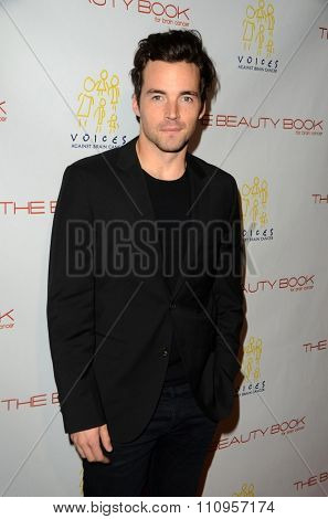 LOS ANGELES - DEC 3:  Ian Harding at the The Beauty Book For Brain Cancer Edition Two Launch Party at the Le Jardin on December 3, 2015 in Los Angeles, CA