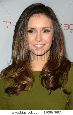 LOS ANGELES - DEC 3:  Nina Dobrev at the The Beauty Book For Brain Cancer Edition Two Launch Party at the Le Jardin on December 3, 2015 in Los Angeles, CA