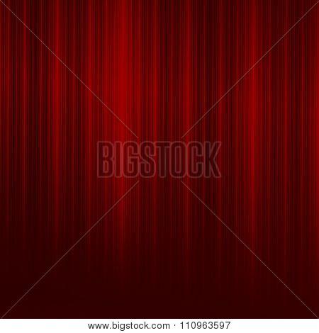 Elegant red lines background. Red color rays. Ornate line art. Creative dark back.
