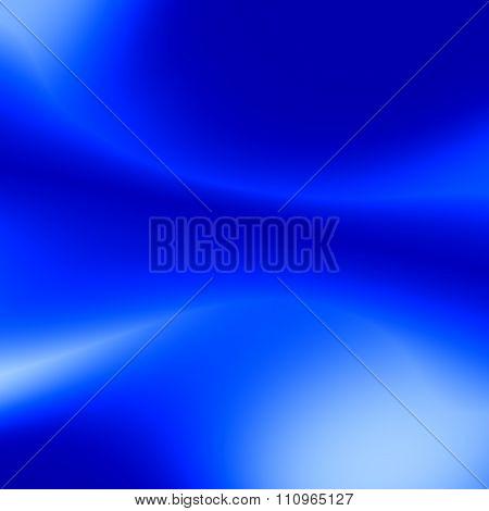 Soft white blue background. Soft blue color. Odd absract blur. Modern art curves.