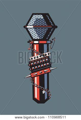 Rock Microphone.
