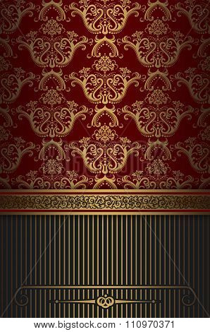 Decorative Vintage Background.