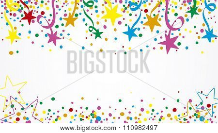 Colorful Background stars at day