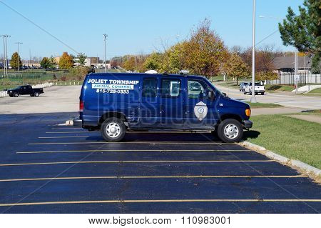 Joliet Township Animal Control Van