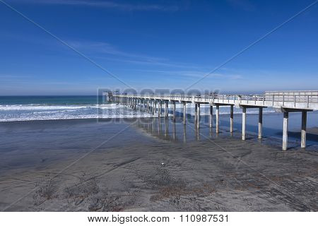 Scripps Pier In California