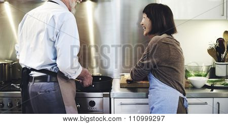 Kitchen Cooking Culinary Preparation Kitchenware Concept