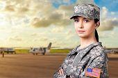 Military Female. poster