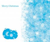 foto of seasons greetings  - Christmas decoration background with space for text - JPG
