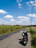 Scooting The Countryside.