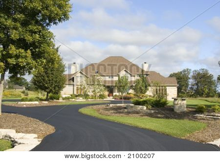 Upscale Home With New Paved Driveway
