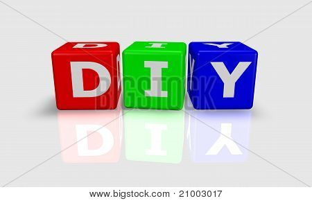 Cube Word Diy
