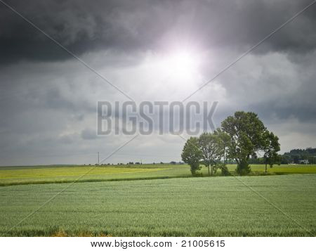 An image of a bad weather background