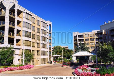 Modern Condominium Buildings