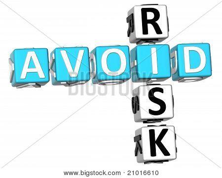 3D Aviod Risiko-Kreuzworträtsel