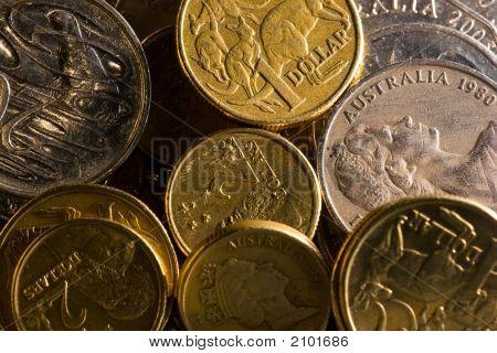 Mixture Of Australian Coins