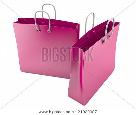 Two shopping bags