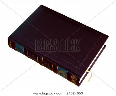 Book In Leather Cover