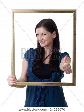 Young Woman Frame Thumb