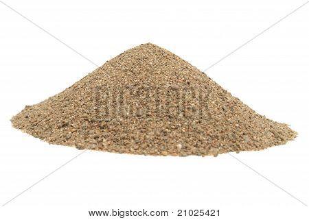 Sand-Haufen