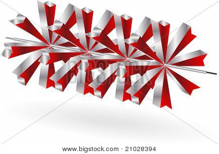 Abstract business background ,hi tech figure