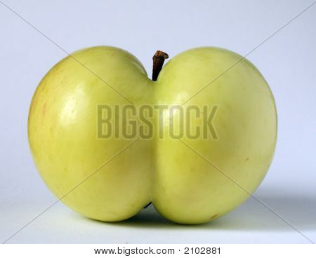 Apple Of A Funny Shape
