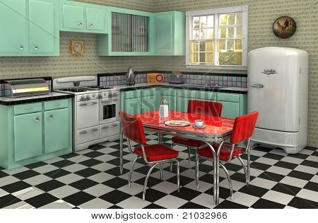 1950's Kitchen