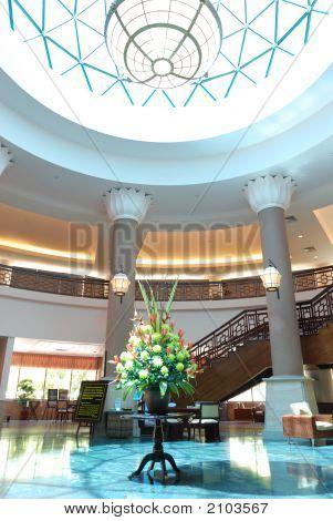 Luxury Hotel Lobby