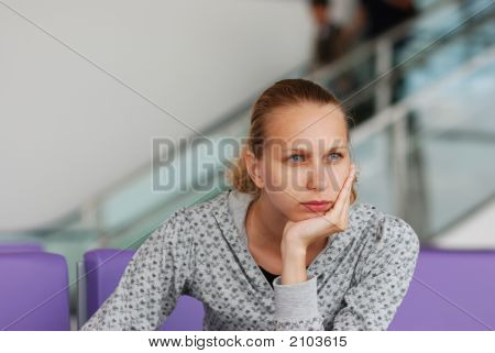Waiting For A Flight
