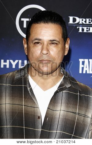 LOS ANGELES - JUN 13: Raymond Cruz at the premiere of TNT's 'Falling Skies' held at the Pacific Design Center on June 13, 2011 in Los Angeles, California.
