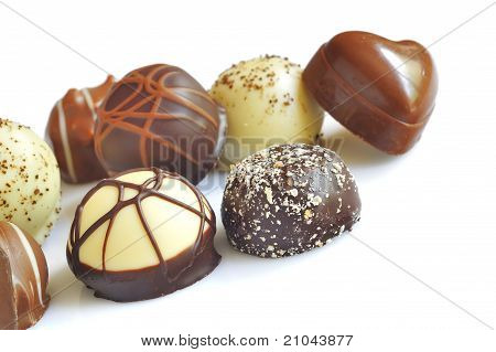 Chocolate candy variety