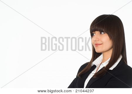 Girl In A Business Suit