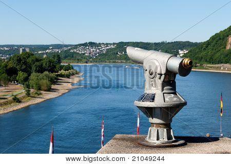 Telescope On The Rhine