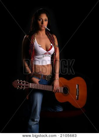 Beautiful Latino Rock Chick
