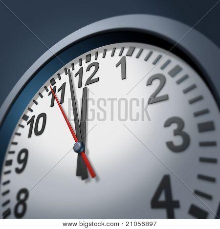 Dringlichkeit Uhr-symbol