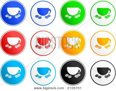 Coffee Sign Icons