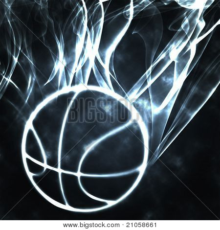 Basketball In The Smoke
