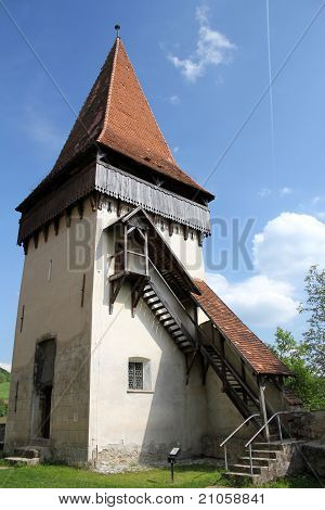 Medieval defence tower