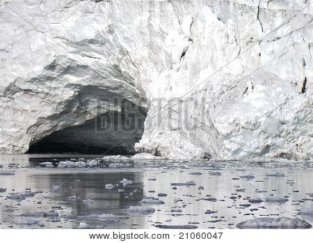 Natural Artic Cave