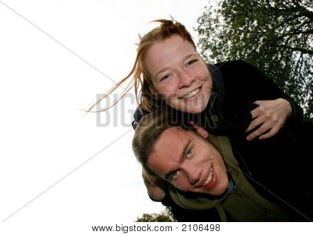 Fun Young Couple