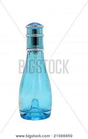 Glass Light Blue Spray Bottle