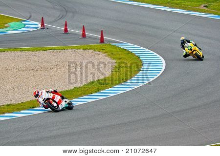 Bradl And Corsi Pilots Of Moto2 In The Motogp