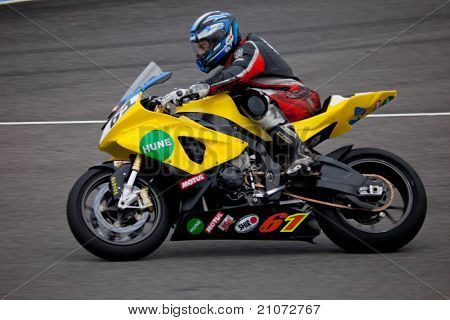 Felix Rodriguez Pilot Of Stock Extreme In The Cev