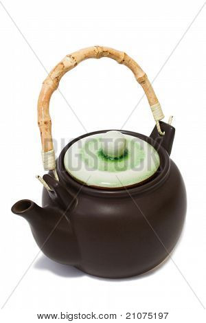 Brown Teapot