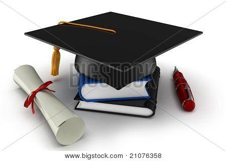 3D School Graduation
